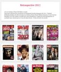 les meilleures couvertures de magazines en 2012