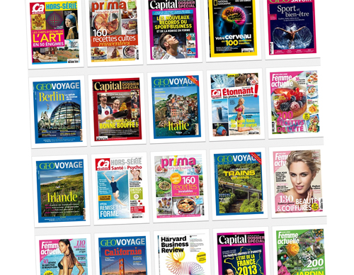 magazines éligibles forfaits