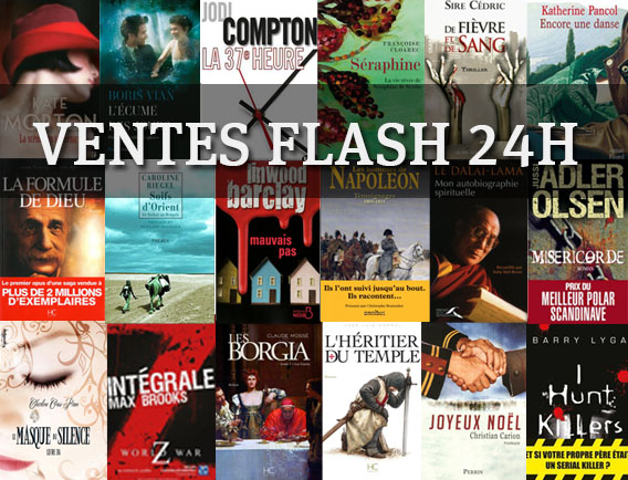 Vente flash de ebooks sur 24h en décembre