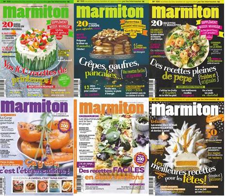 magazine Marmiton Prix des magazines Passion